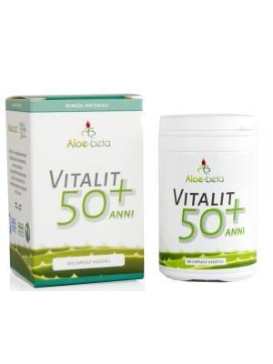 Aloe-Beta Vitalit 50+ 60 Capsule - Integratore Alimentare