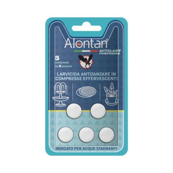 Alontan Actilarv 5 Compresse - Larvicida Antizanzare in Compresse Effervescenti