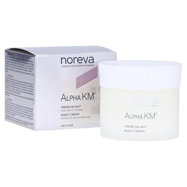 Alpha KM Crema Notte Trattamento Riparatore Antieta' 50 ml