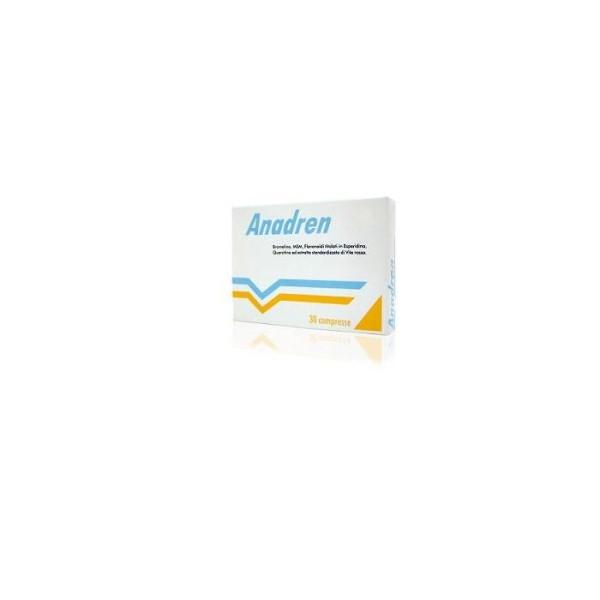 Anadren 30 Compresse - Integratore Alimentare