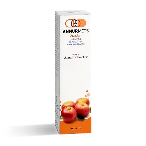 AnnurMets Hair Shampoo Riparatore Ristrutturante Anticaduta 200 ml