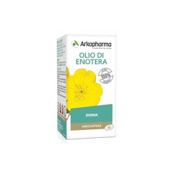 Arkocapsule Olio Enotera 60 Perle - Integratore Ciclo Mestruale