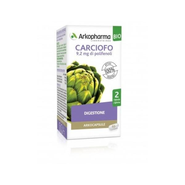 Arkocapsule Carciofo Bio 40 Capsule - Integratore Digestivo