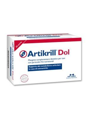 Artikrill Dol Cane 60 Perle - Mangime Complementare per Osteoartrite