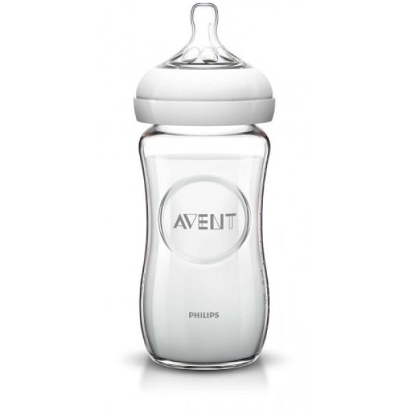 Avent Biberon Natural in Vetro 240 ml