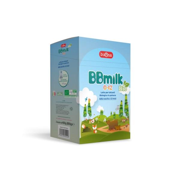 BB Milk 0-12 Mesi Bio Latte in Polvere 800 grammi