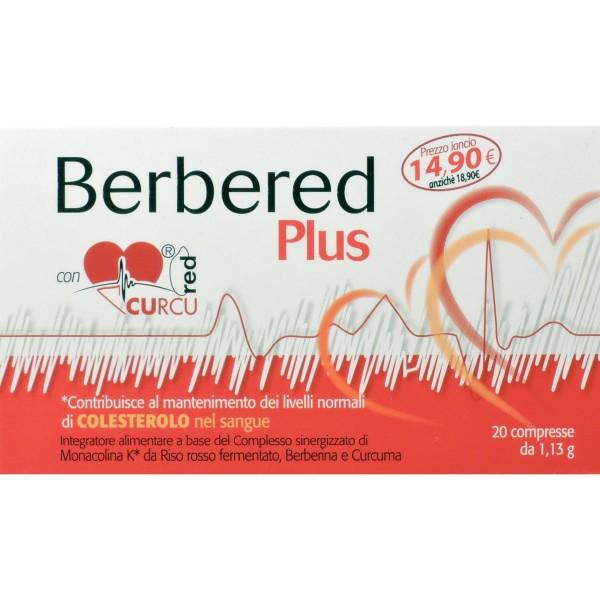 Berbered Plus 20 Compresse - Integratore per il Colesterolo