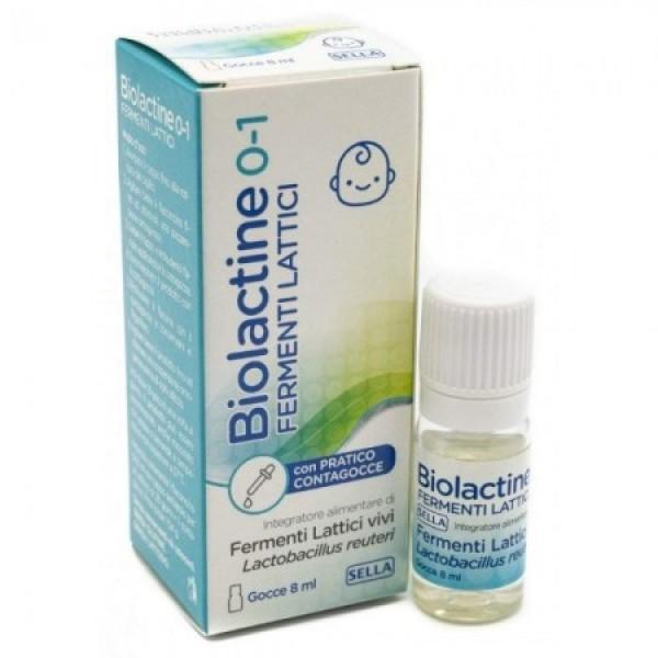 Biolactine Gocce 8 ml - Integratore Fermenti Lattici