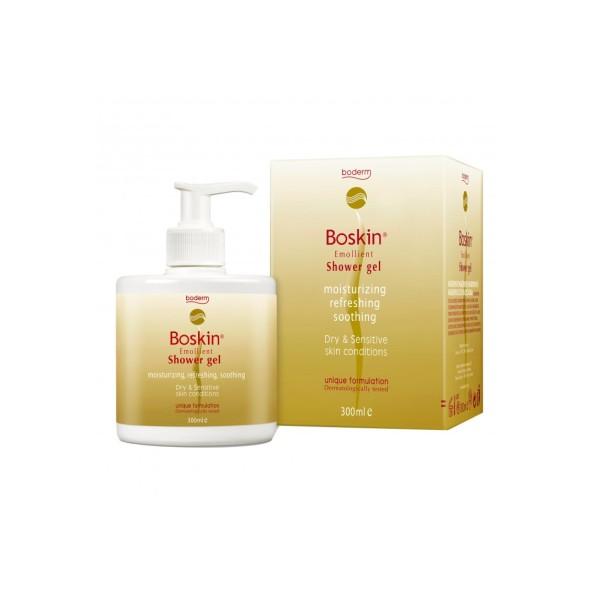 Boskin Shower Gel Doccia Detergente Emolliente Pelle Secca 300 ml