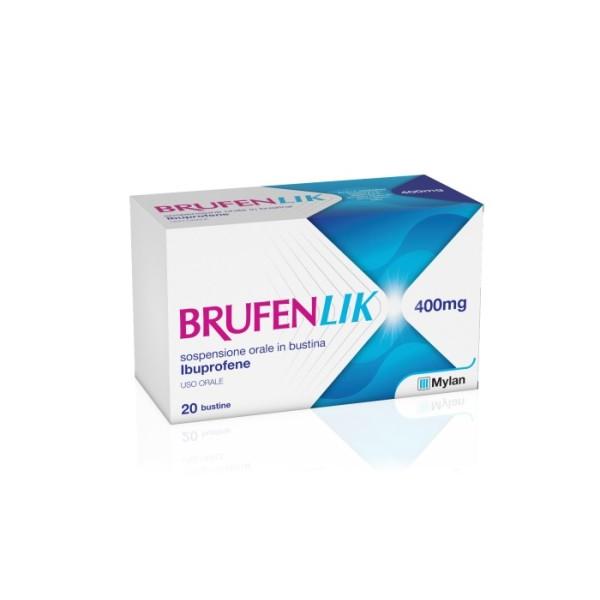 Brufenlik 400 mg Ibuprofene 20 Bustine da 10ml