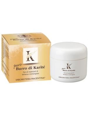 Erboristeria Magentina Burro Karitè Puro Biologico 50 ml