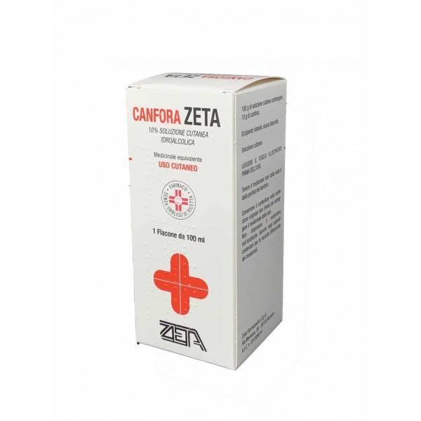 Canfora Zeta 10% Soluzione Cutanea Idroalcolica 100 ml
