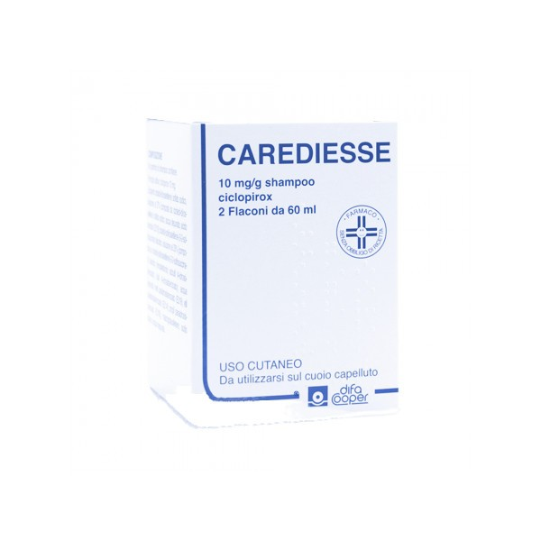 Carediesse Shampoo Dermatite Seborroica 2 x 60 ml