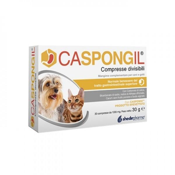 Caspongil 30 Compresse - Integratore Veterinario