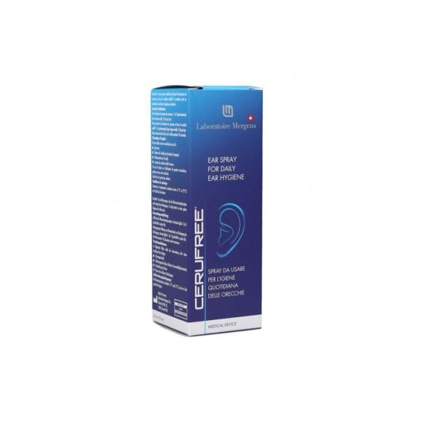 Cerufree Spray Dissoluzione Cerume Igiene Orecchie 30 ml