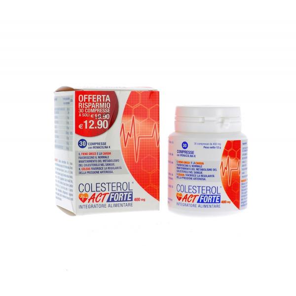 Colesterol Act Forte 30 compresse   Integratore Alimentare Colesterolo