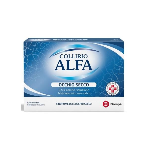 Collirio Alfa Acido Ialuronico 20 Flaconcini 0,5 ml