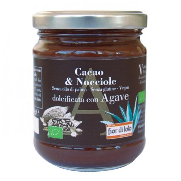 Fior di Loto Crema Spalmabile Cacao e Nocciole 200 grammi