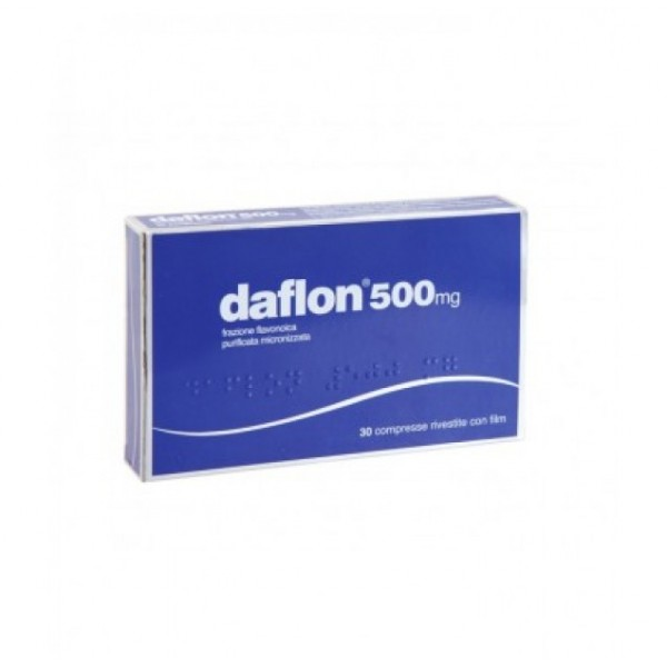 Daflon 500mg General Pharma 30 Compresse rivestite