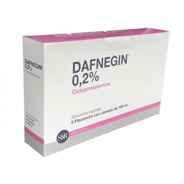 Dafnegin Soluzione Vaginale 0,2% 5 Flaconi da 150 ml