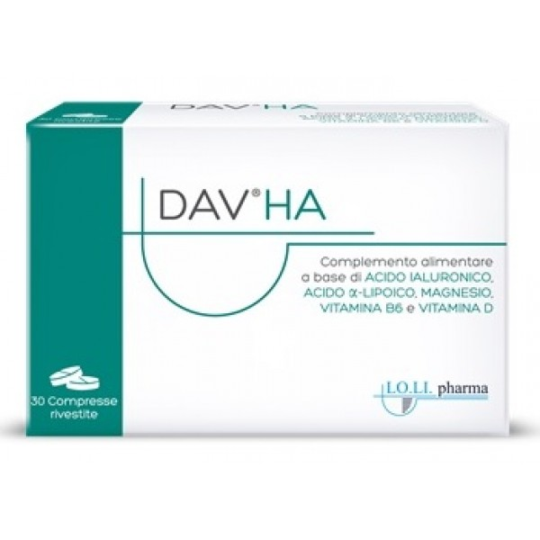 Dav Ha 30 compresse - Integratore Alimentare Magnesio, Vitamina D e B6