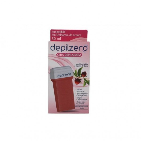 Depilzero Cera Depilatoria Jojoba Ricarica 50 ml