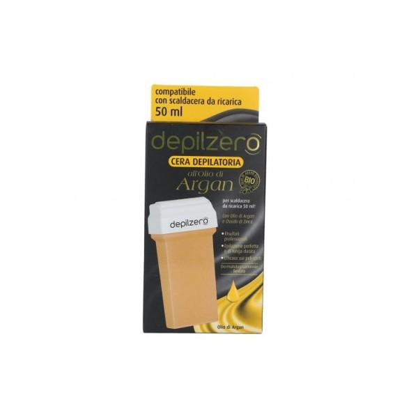 Depilzero Cera Depilatoria all'Olio di Argan Ricarica 50 ml