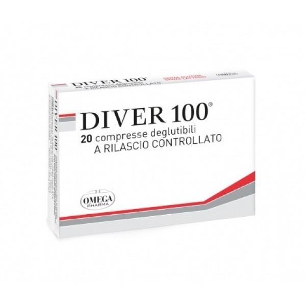 Diver 100  20 Compresse - Integratore Alimentare