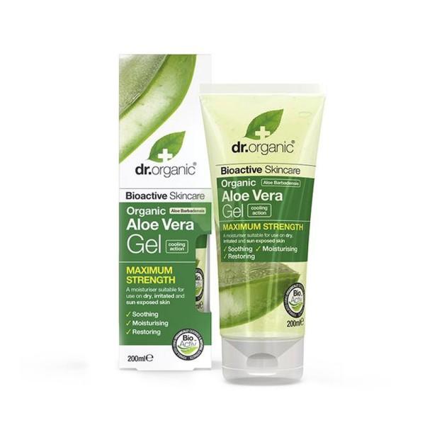 Dr.Organic Aloe Vera Gel Idratante Rinfrescante Corpo 200 ml