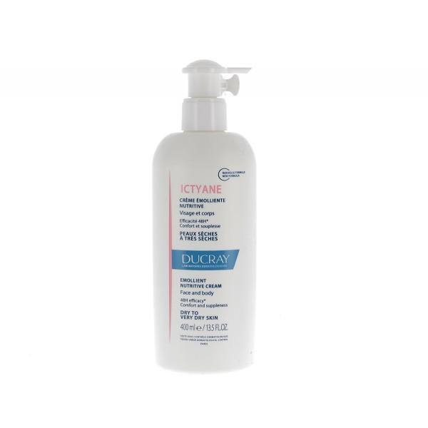 Ducray Ictyane Crema Emolliente Nutritiva Pelle Secca e Molto Secca 400 ml