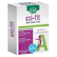 Esi Fit A The Verde 48 Compresse - Integratore Alimentare Attivatore del Metabolismo