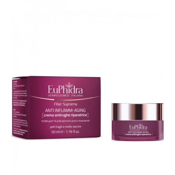 Euphidra Filler Suprema Crema Antirughe Riparatrice 50 ml