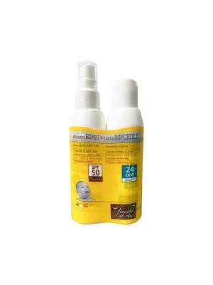 Fiocchi di Riso Solare Latte Spf 50+ 140 ml con Doposole 140 ml