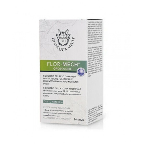Flor Mech 14 Stick - Integratore Alimentare Controllo Peso