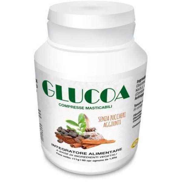 Glucoa 60 Compresse - Integratore Equilibrio Peso Corporeo