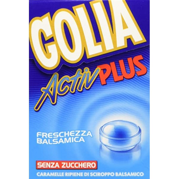 Golia Activ Plus Caramelle Gola 46 grammi