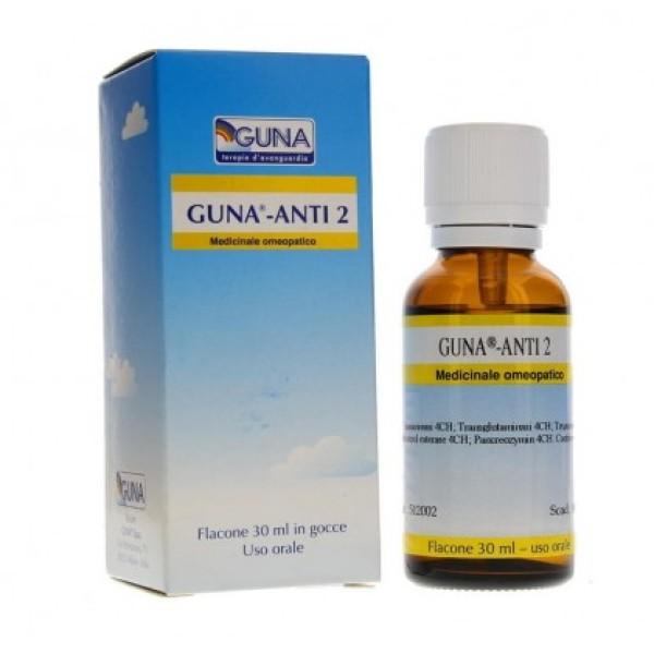 Guna Anti 2 Gocce 30 ml - Medicinale Omeopatico
