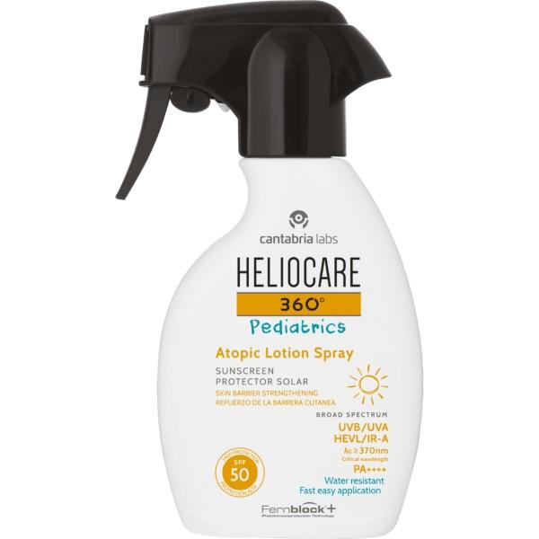 Heliocare 360° Pediatrics Atopic Lotion Spray SPF 50 Lozione Solare Bambini 250 ml