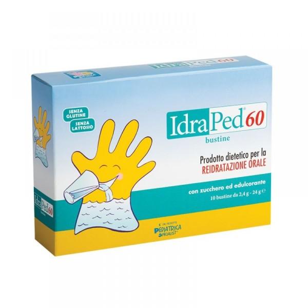 Idraped 60  10 Bustine - Prodotto Dietetico per la Reidratazione Orale