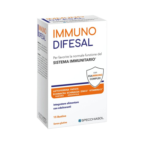 Immunodifesal 15 Bustine - Integratore Difese Immunitarie Difese Immunitarie