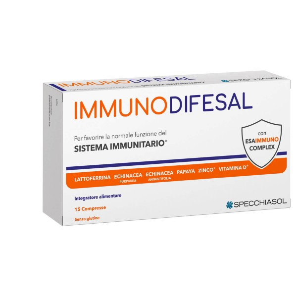 Immunodifesal 15 compresse - Integratore Alimentare Difese Immunitarie