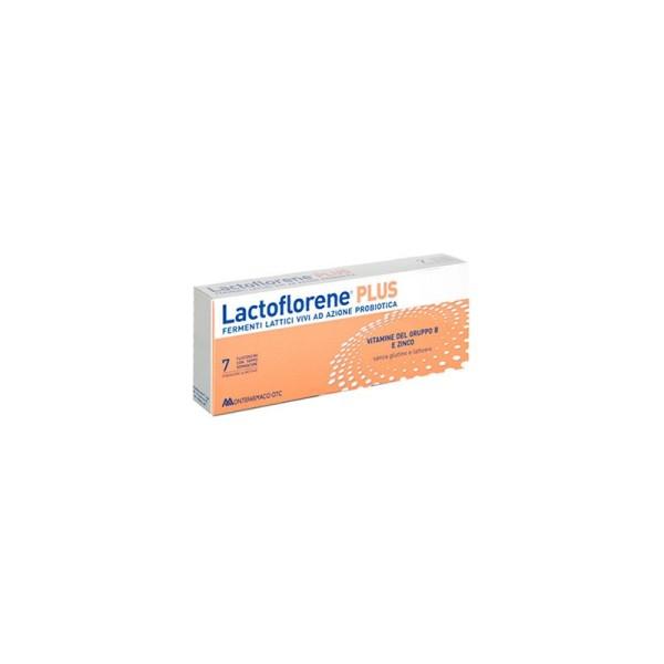 Lactoflorene Plus 7 Flaconcini - Integratore Alimentare Fermenti Lattici