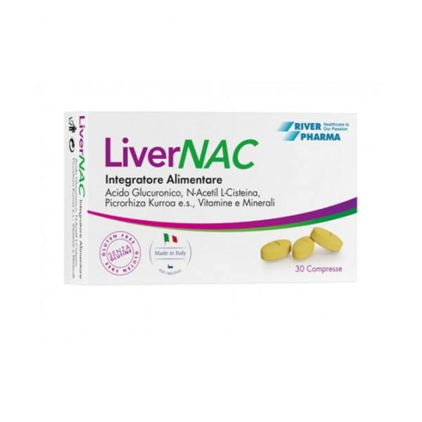 Livernac 30 compresse - Integratore Alimentare