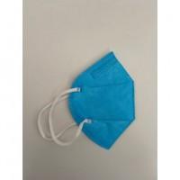 Mascherina Filtrante Antivirus CE0370 Italhealth FFP2 KN95 Filtraggio 95% Colore Azzurro 1 pezzo