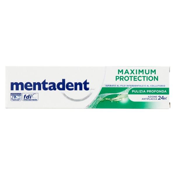 Mentadent Maximum Protection Pulizia Profonda Dentifricio 75 ml