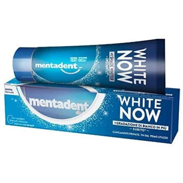 Mentadent White Now Dentifricio 75 ml