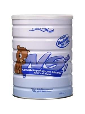N5+1 Latte in Polvere 0/6 Mesi 800 grammi