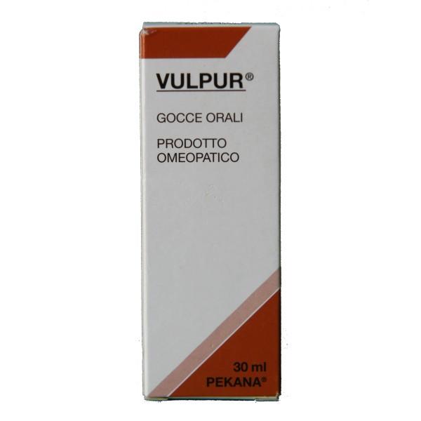 Named Pekana Vulpur Gocce 30 ml
