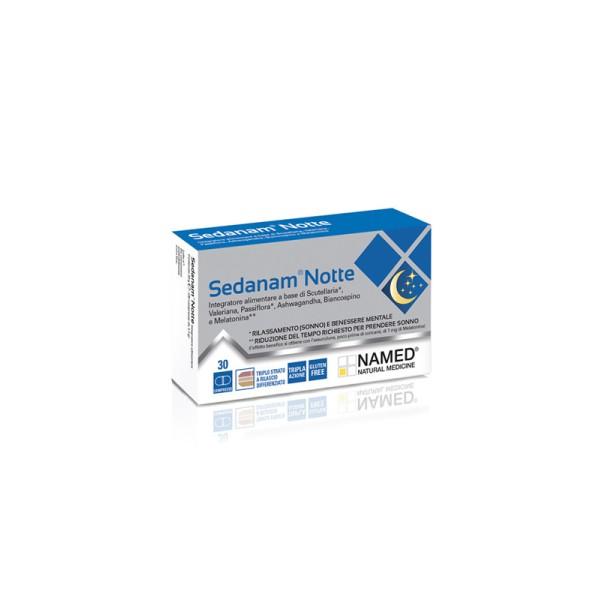 Named Sedanam Notte Integratore Sonno 30 Compresse