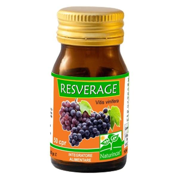 Naturincas Resverage 60 Compresse - Integratore Alimentare